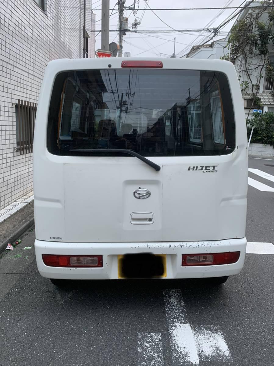 「東京23区 ダイハツ ハイゼットカーゴ 初年度H20年 ETC 車検1年あり」の画像2