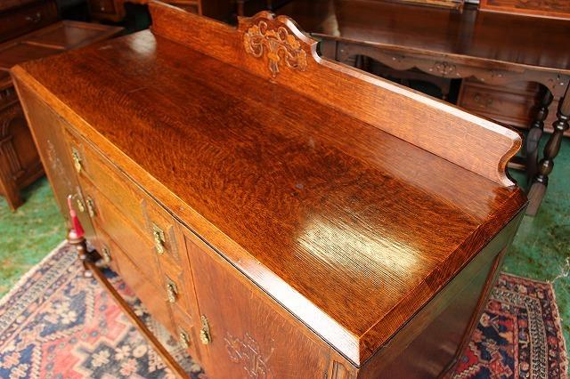 イギリスアンティーク家具 サイドボード キャビネット 英国製 J150_画像6