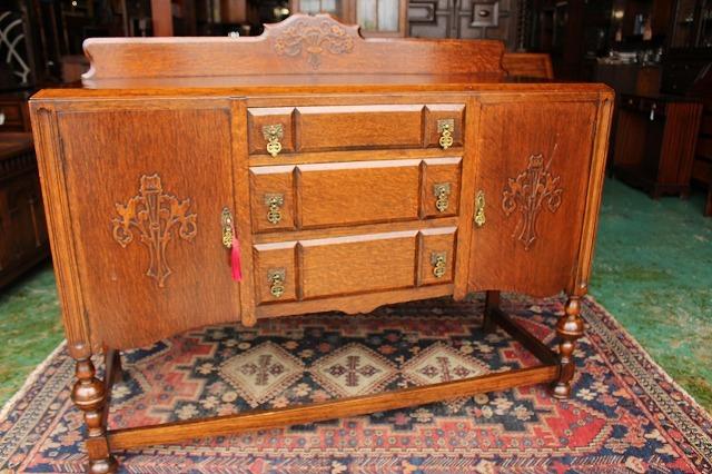 イギリスアンティーク家具 サイドボード キャビネット 英国製 J150_画像8
