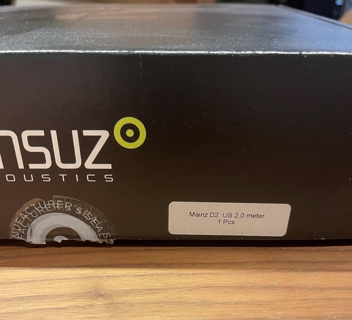 Ansuz Acoustics Mainz D2 2.0m 電源ケーブル 検:Nordost Odin_画像6