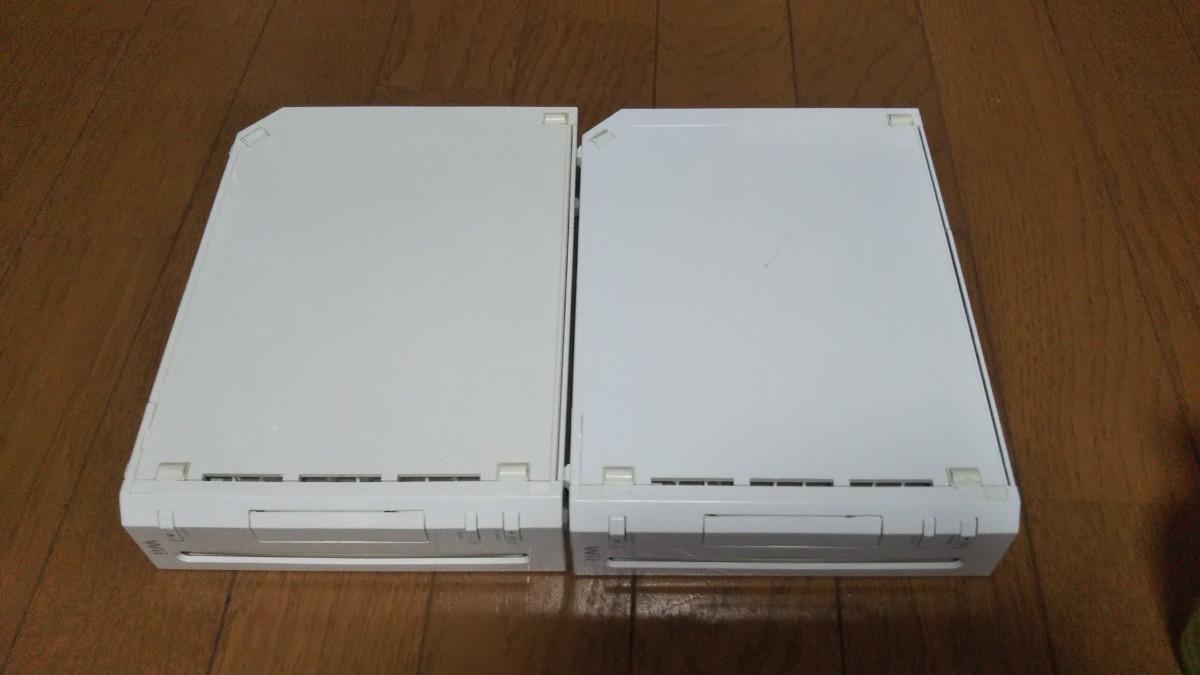 Wii 2台 セット  中古品  Nintendo 任天堂 ニンテンドー 本体のみ 動作確認済み シロ