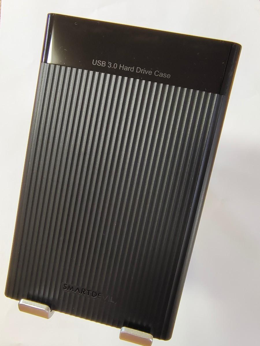 320GB/外付けハードディスク/新品ケース/外付けHDD/USB3.0