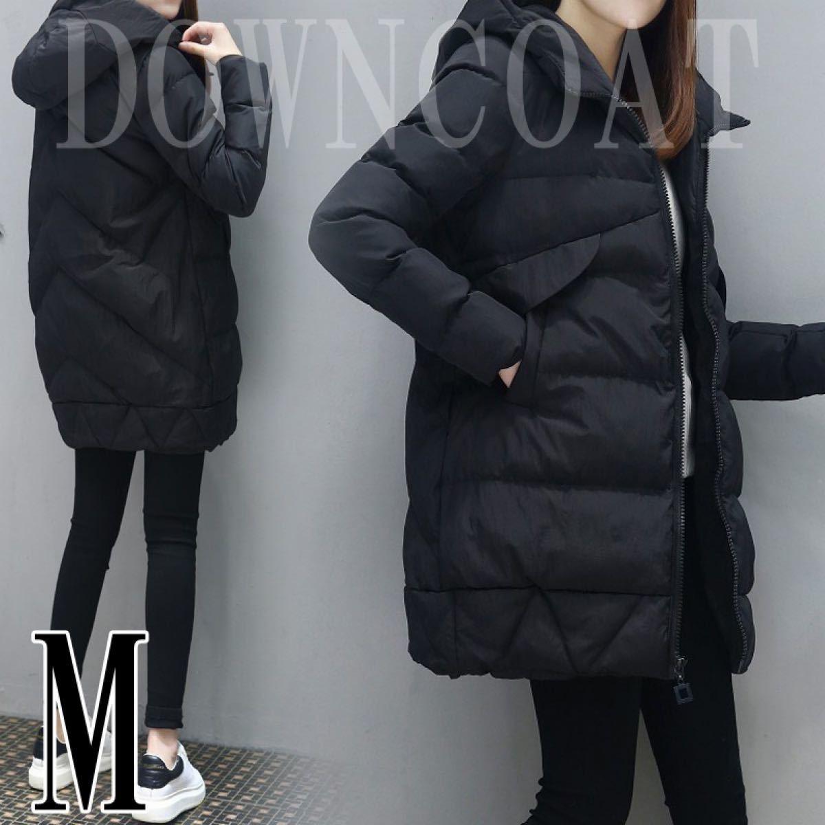 中綿ダウンコート ダウンジャケット Mサイズ アウター コート コートジャケット レディース