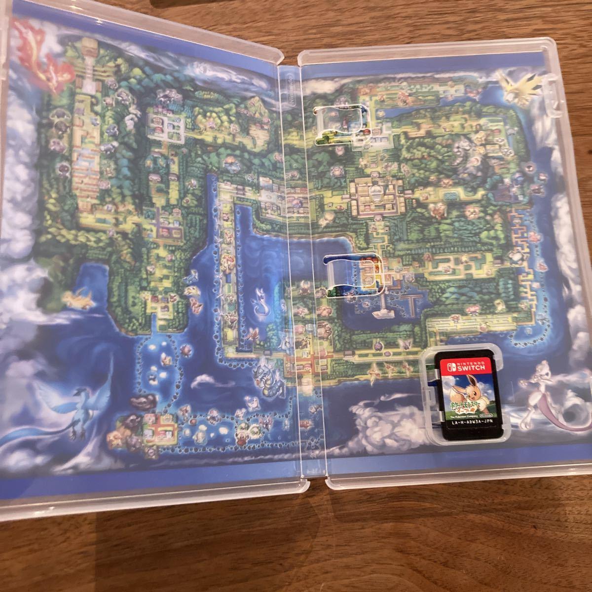 送料無料 ポケットモンスター Let's Go! イーブイ ポケモン レッツゴー Nintendo Switch ニンテンドースイッチ 即決 動作確認済_画像3