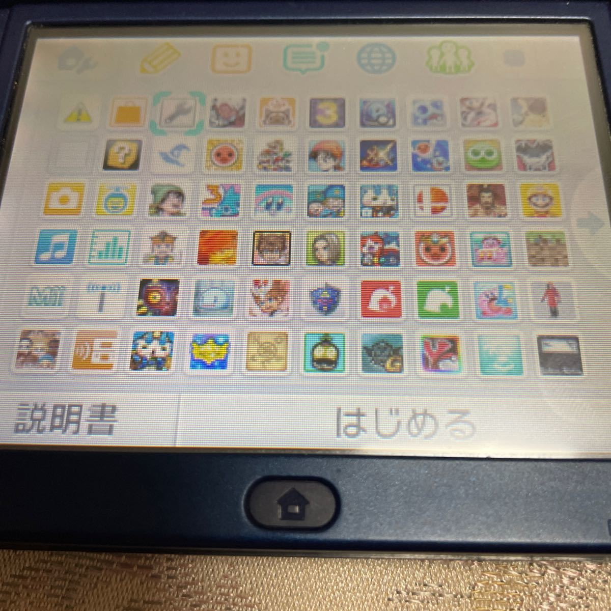 new3dsll 内蔵ソフト多数!SDカード64GB