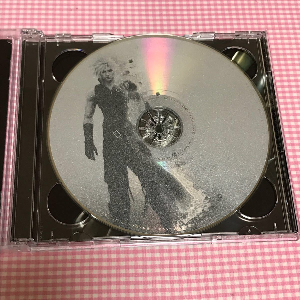 【DVD+CD】ファイナルファンタジーファンタジー7 アドベントチルドレン 初回限定 2点セット