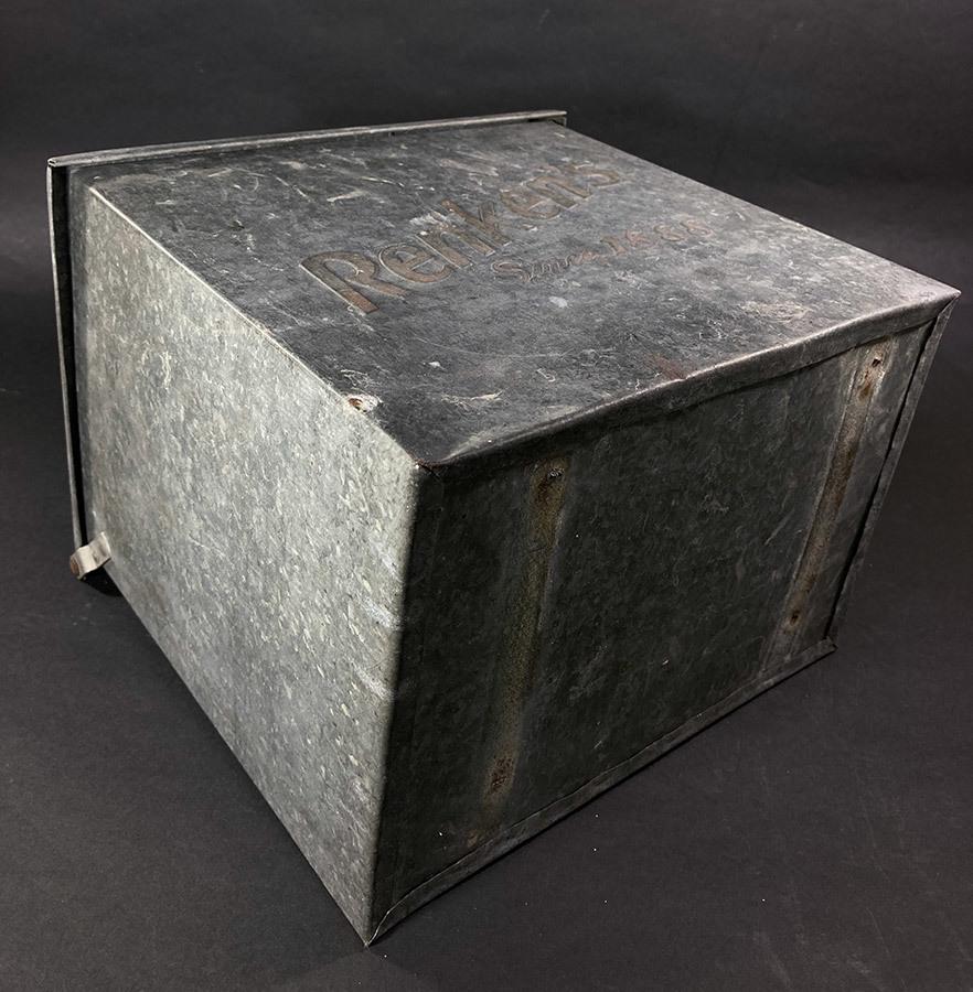 1940's ビンテージ ミルク ボックス/USA/宅配ボックス/メールボックス/ポスト/照明/店舗什器/アンティーク/ランプ/ドアノブ/シャビーシック_画像5