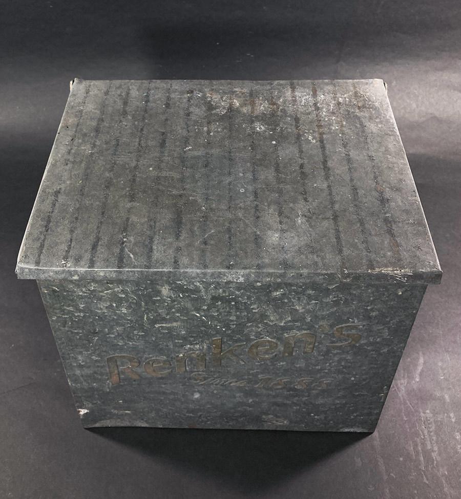 1940's ビンテージ ミルク ボックス/USA/宅配ボックス/メールボックス/ポスト/照明/店舗什器/アンティーク/ランプ/ドアノブ/シャビーシック_画像4