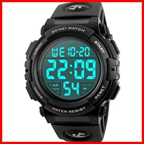 2F 新品 新品Timever(タイムエバー)デジタル腕時計 スポーツウォッチ 防水腕時計 watch アラーム 迅速対応 メンズ led 新品 新品 1T_画像1