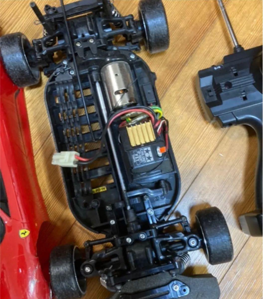 TAMIYA 1/10 TT-01 フェラーリ F430 ドリフト ラジコン タミヤ ラジコン TAMIYA おまけ付き
