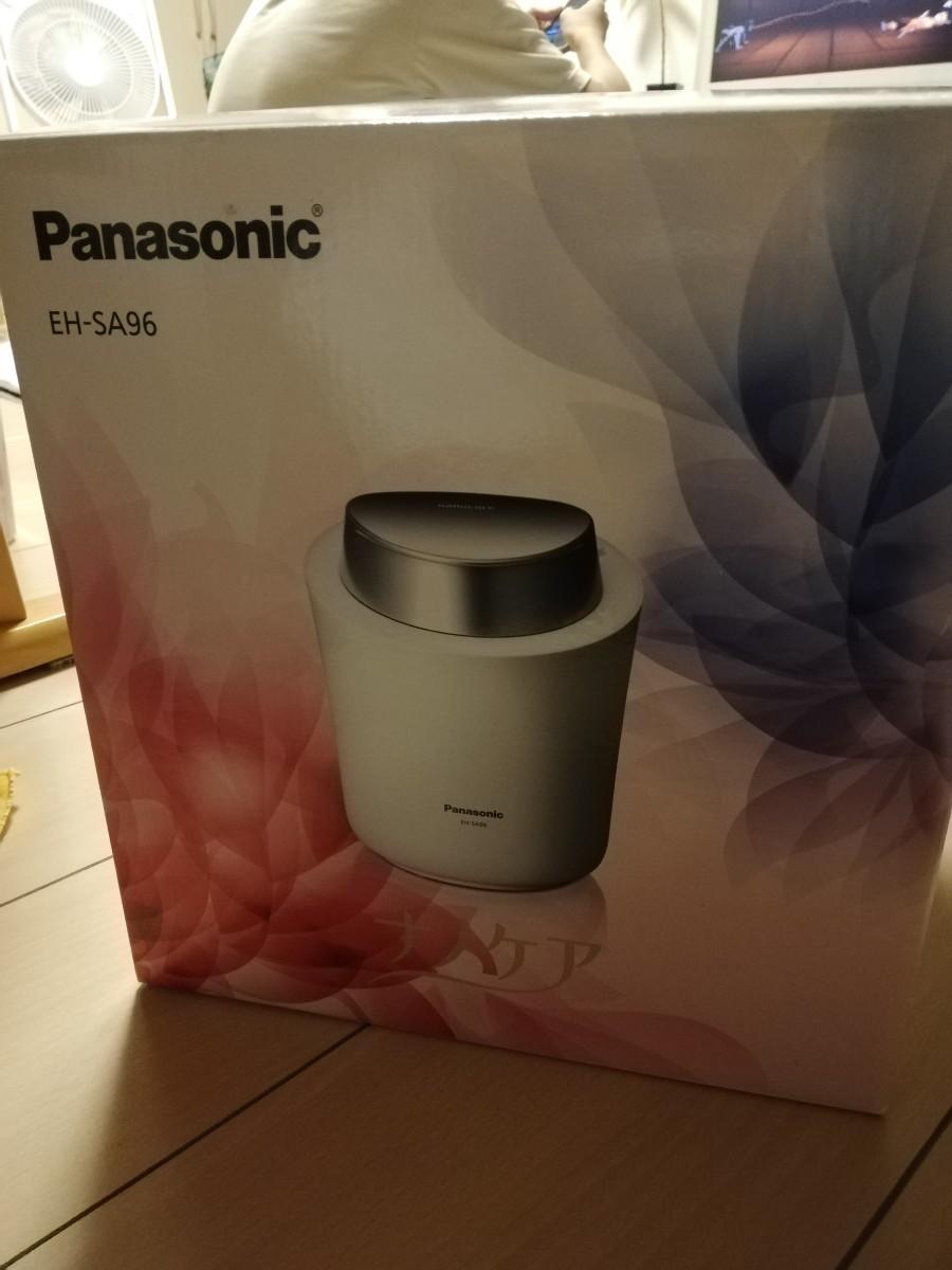 スチーマー ナノケア Panasonic EH-SA96