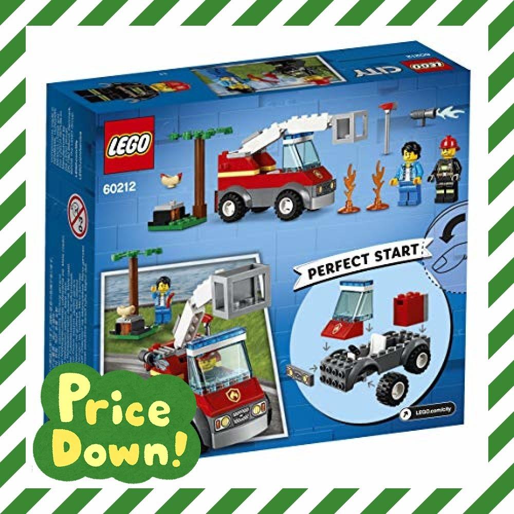 新品レゴ(LEGO) シティ バーベキューの火事 60212 ブロック おもちゃ 男の子O6WX_画像3
