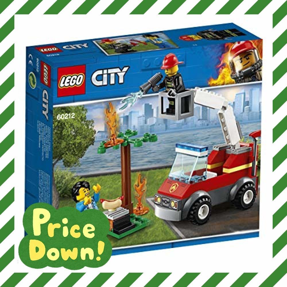 新品レゴ(LEGO) シティ バーベキューの火事 60212 ブロック おもちゃ 男の子O6WX_画像1