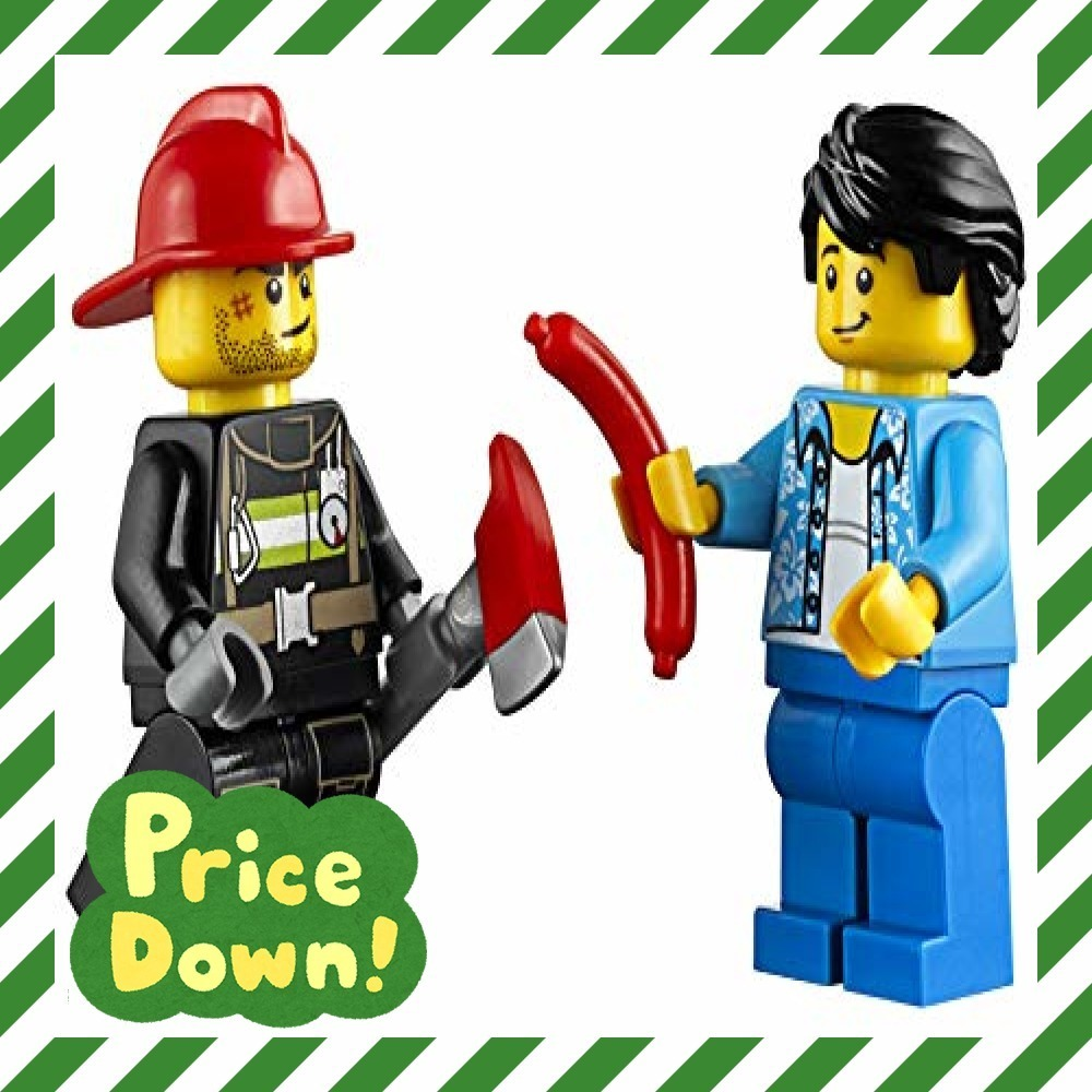 新品レゴ(LEGO) シティ バーベキューの火事 60212 ブロック おもちゃ 男の子O6WX_画像6