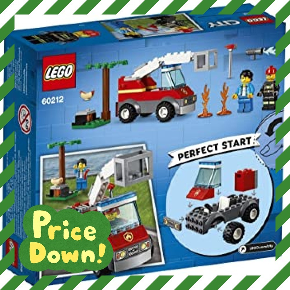新品レゴ(LEGO) シティ バーベキューの火事 60212 ブロック おもちゃ 男の子O6WX_画像10