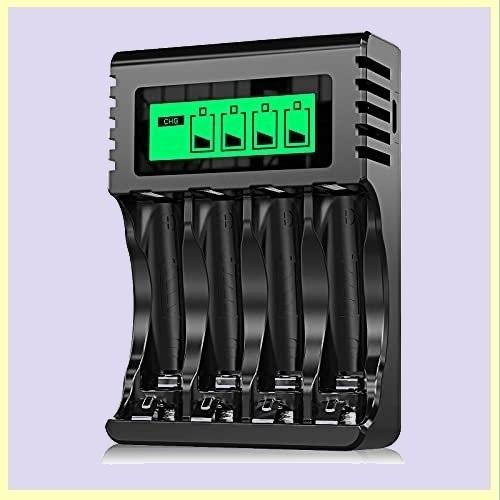 ☆★この時期限定★☆新品☆未使用★ 8本同時充電可能 Powerowl急速電池充電器単三単四ニッケル水素/ニカド充電池に対応 Y-VW_画像1
