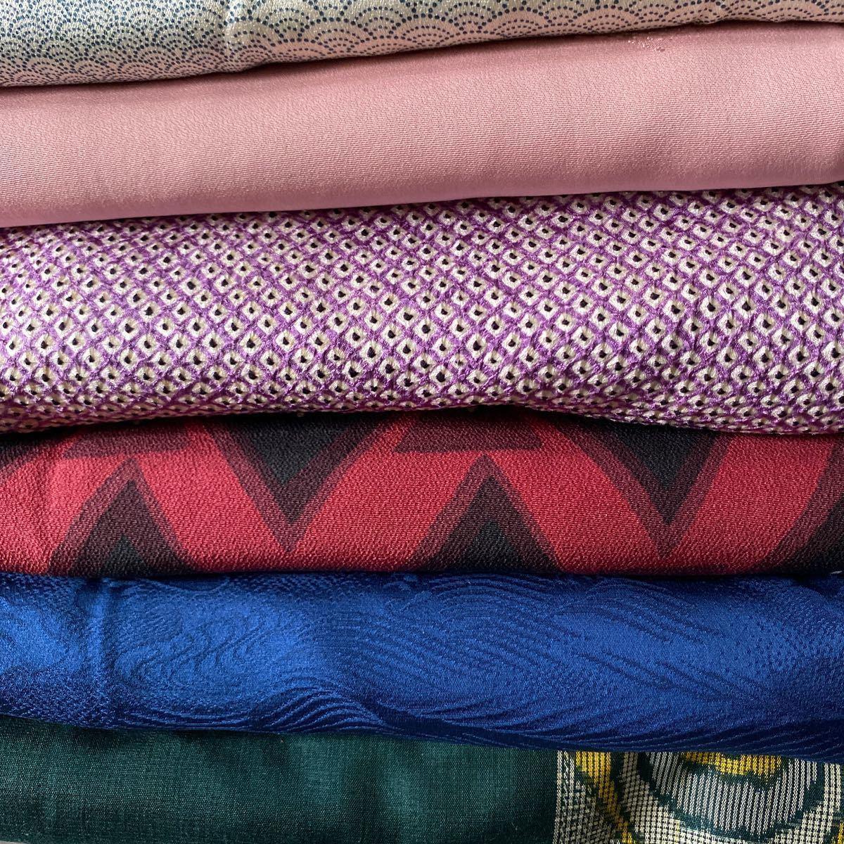 正絹 着物 リメイク素材 10枚 セット.
