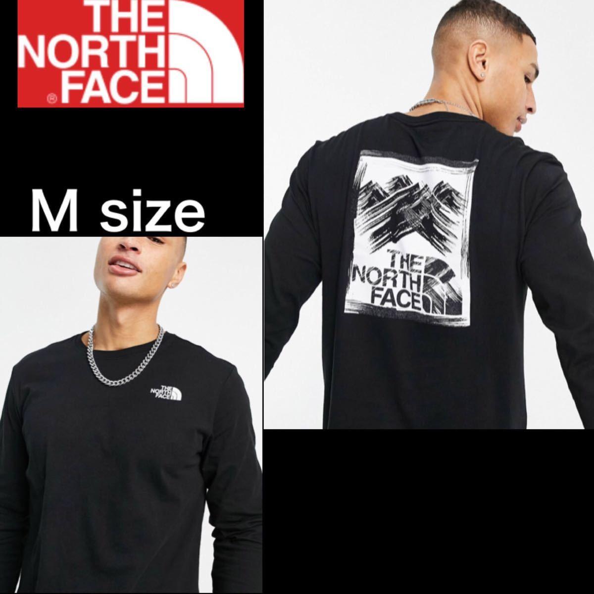 ザ ノースフェイス Tシャツ長袖 ロンT ストロークマウンテン 海外限定 M THE NORTH FACE 長袖Tシャツ