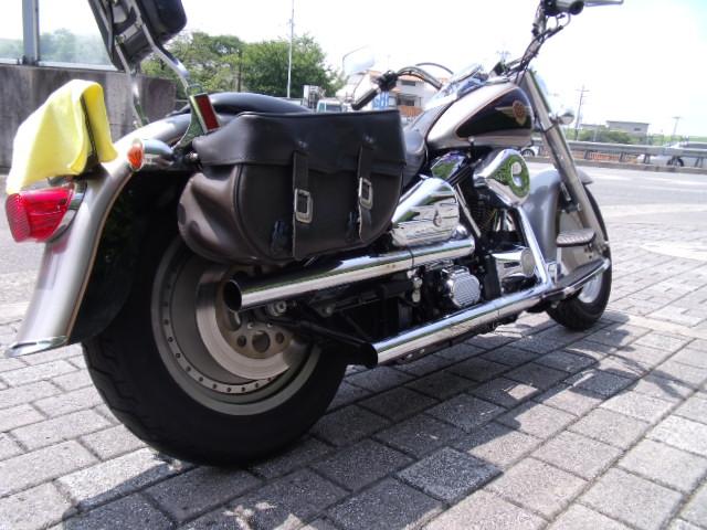 「☆エボハーレー1997年 FLSTFファットボーイ車検令和5年4月 実働中古車大阪」の画像3