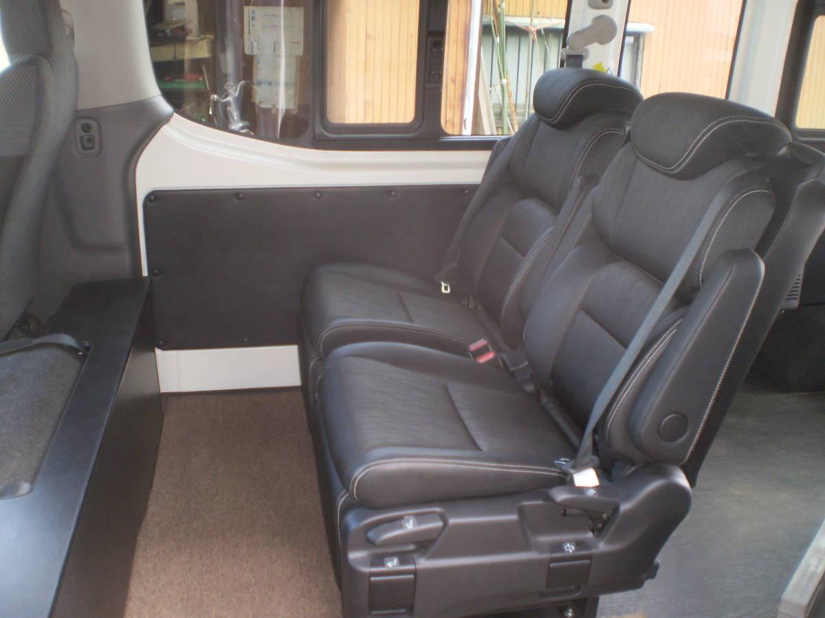 日産 NV350 キャラバン 平成29年 ワイドスーパーロングハイルーフ 4WD パールホワイト 中古車_画像6