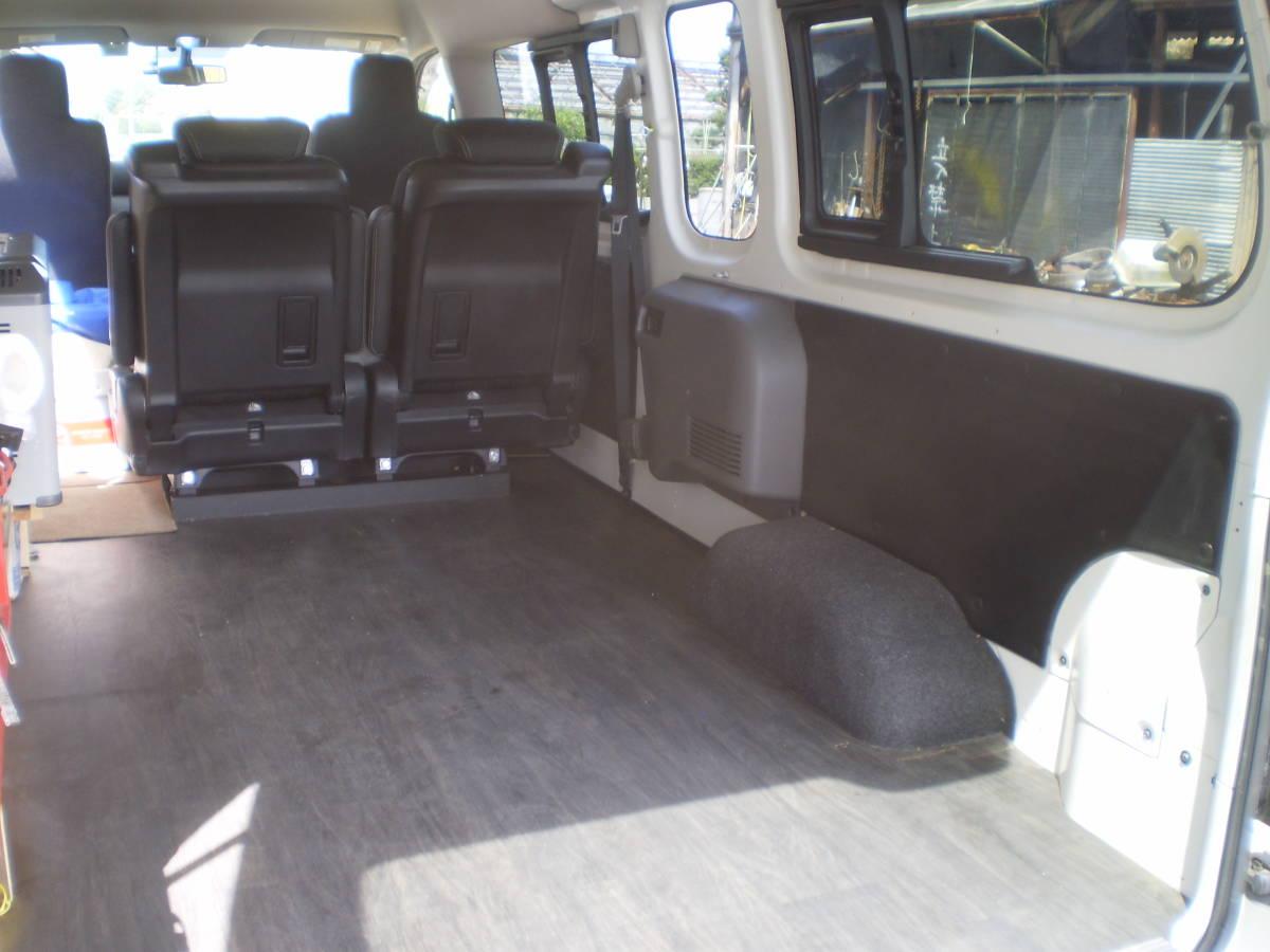 日産 NV350 キャラバン 平成29年 ワイドスーパーロングハイルーフ 4WD パールホワイト 中古車_画像4