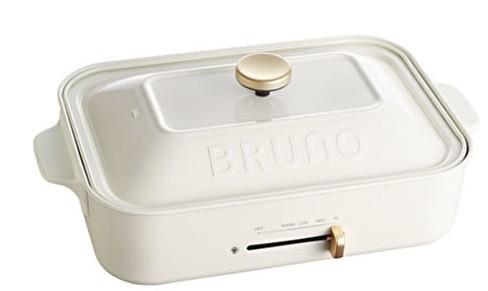 ブルーノ BRUNO コンパクトホットプレート ホワイト 送料無料