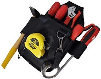 新品カーペンタータイプ 工具用ウエストバッグ 大工 電工用 作業効率の良い機能設計 工具差し 工具袋 ポーチ腰袋 ベI8VA_画像2