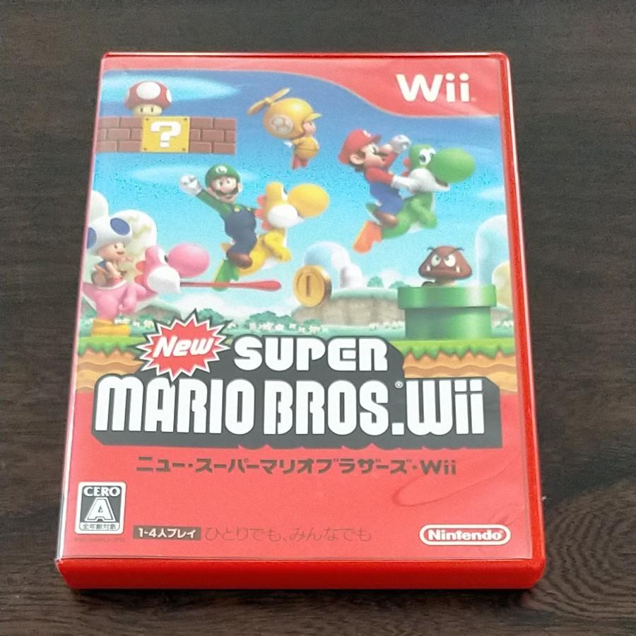 ニュースーパーマリオブラザーズWii SUPER MARIO BROS.