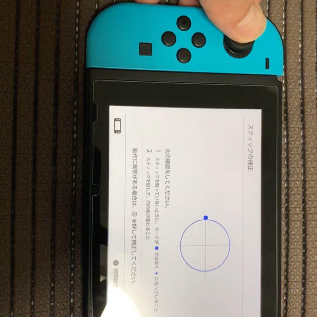 Nintendo Switch Joy-Con (L) ネオンブルー / (R) ネオンレッド ストラップなし ジョイコン