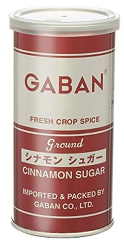 GABAN シナモンシュガー (缶) 140g   【ミックススパイス ハウス食品 香辛料 パウダー 業務用】_画像1