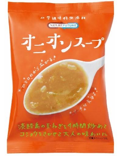 NATURE FUTURe オニオンスープ  9.4g    【コスモス食品 フリーズドライ 国産 国内産 化学調味料無添加 玉ねぎスープ】_画像1