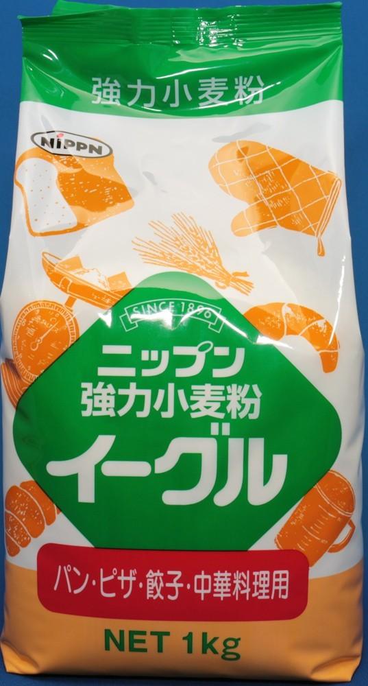 小麦ソムリエの底力 強力小麦粉 イーグル(強力粉 ニップン) 1kg_画像2