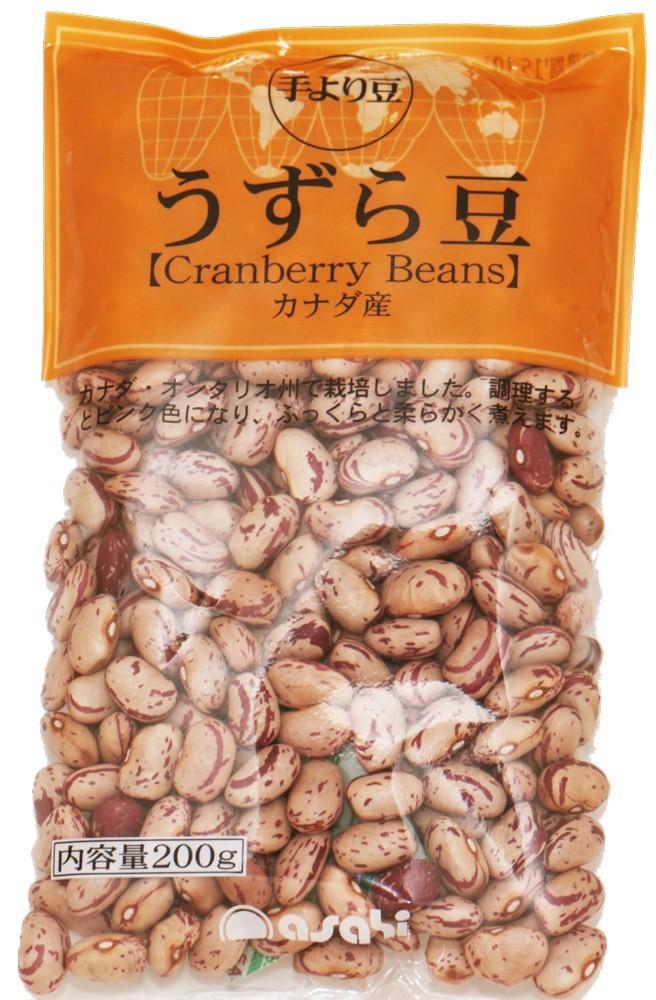 豆力 豆専門店のうずら豆(クランベリー豆) 200g_画像1