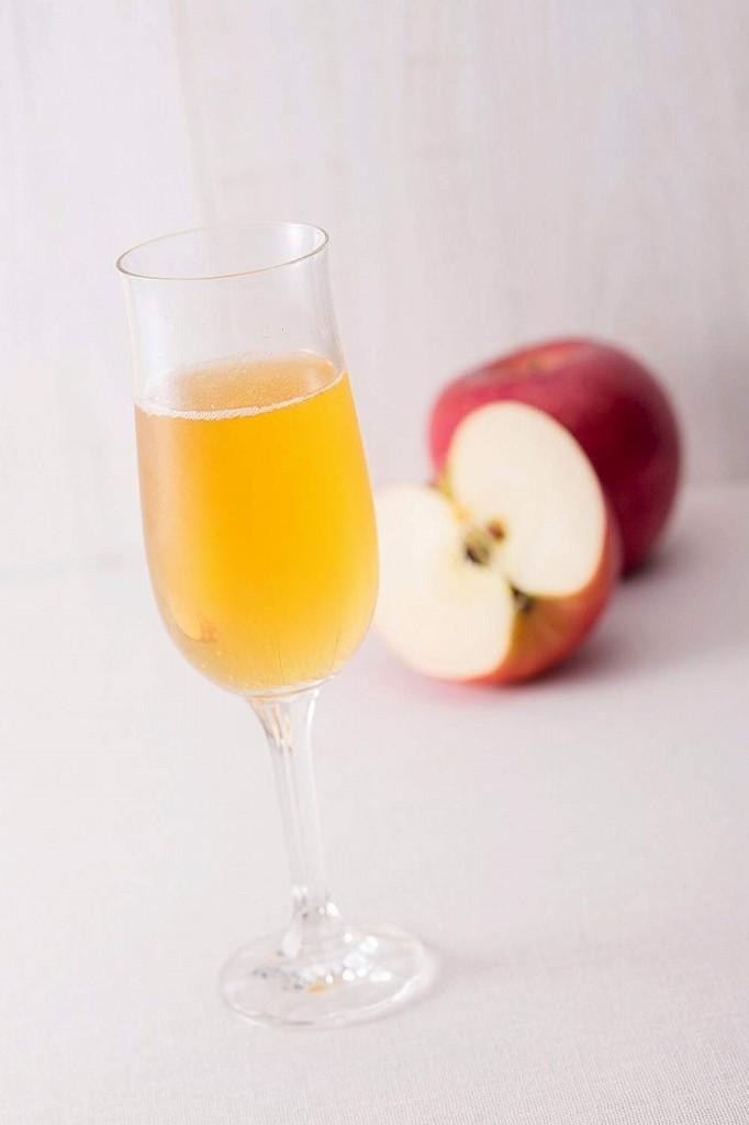 内堀醸造 フルーツビネガー 有機りんごの酢 1L×12本     【1000ml 有機りんご酢 有機JAS認定 飲用酢 希釈タイプ】_画像2
