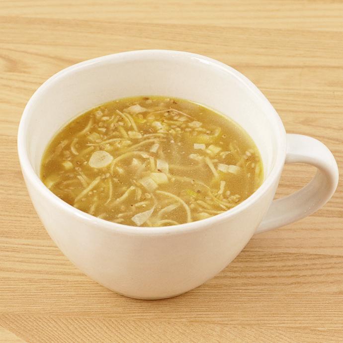 NATURE FUTURe 生姜スープ  10.6g    【コスモス食品 フリーズドライ 国産 国内産 化学調味料無添加 ジンジャースープ】_画像3