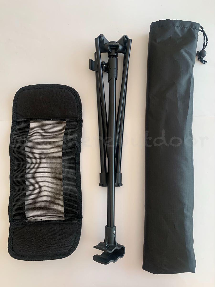 アウトドアチェアに装着可能なフットレストオットマンイスキャンプギア折りたたみ軽量
