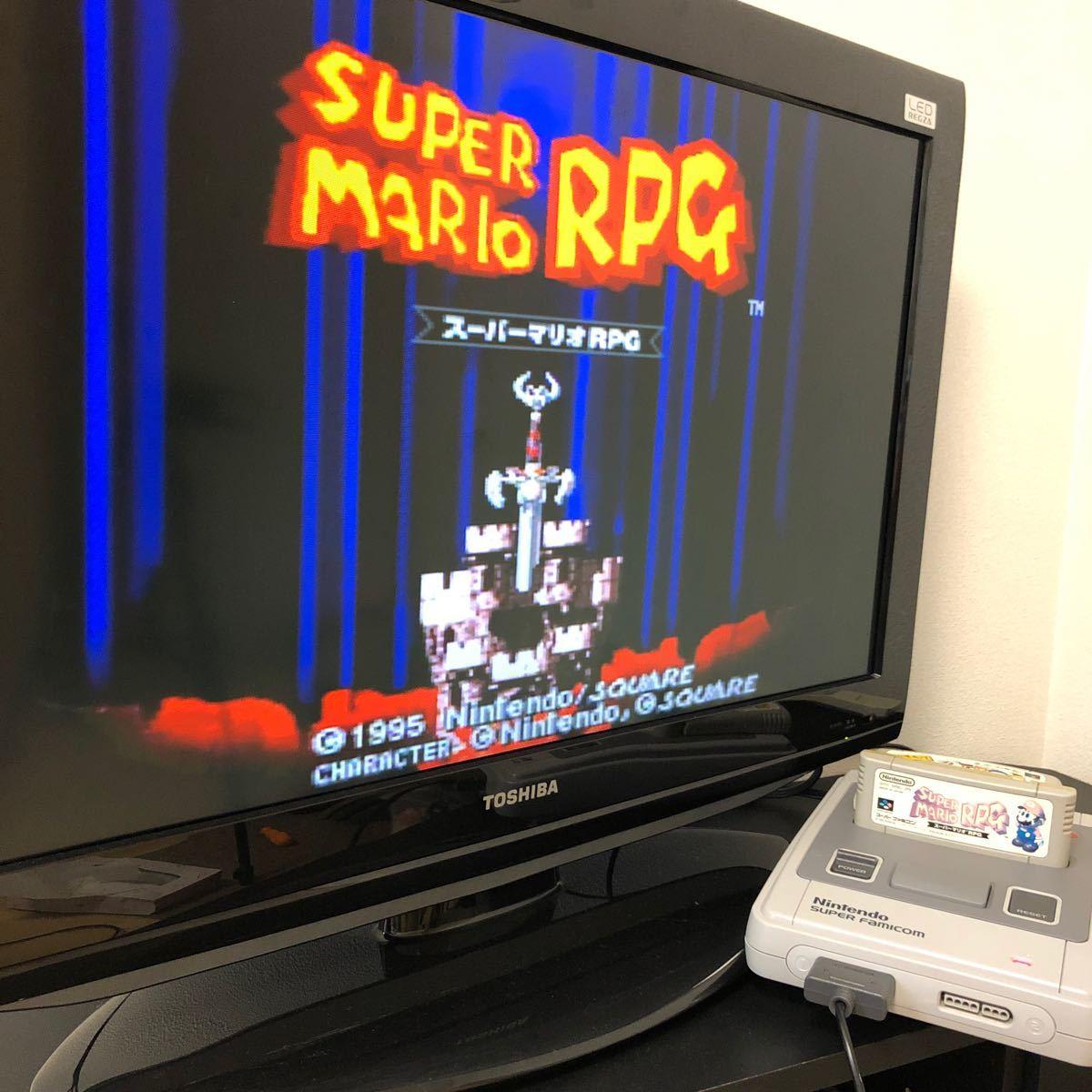 スーパーマリオRPG スーパーファミコン ソフト SFC