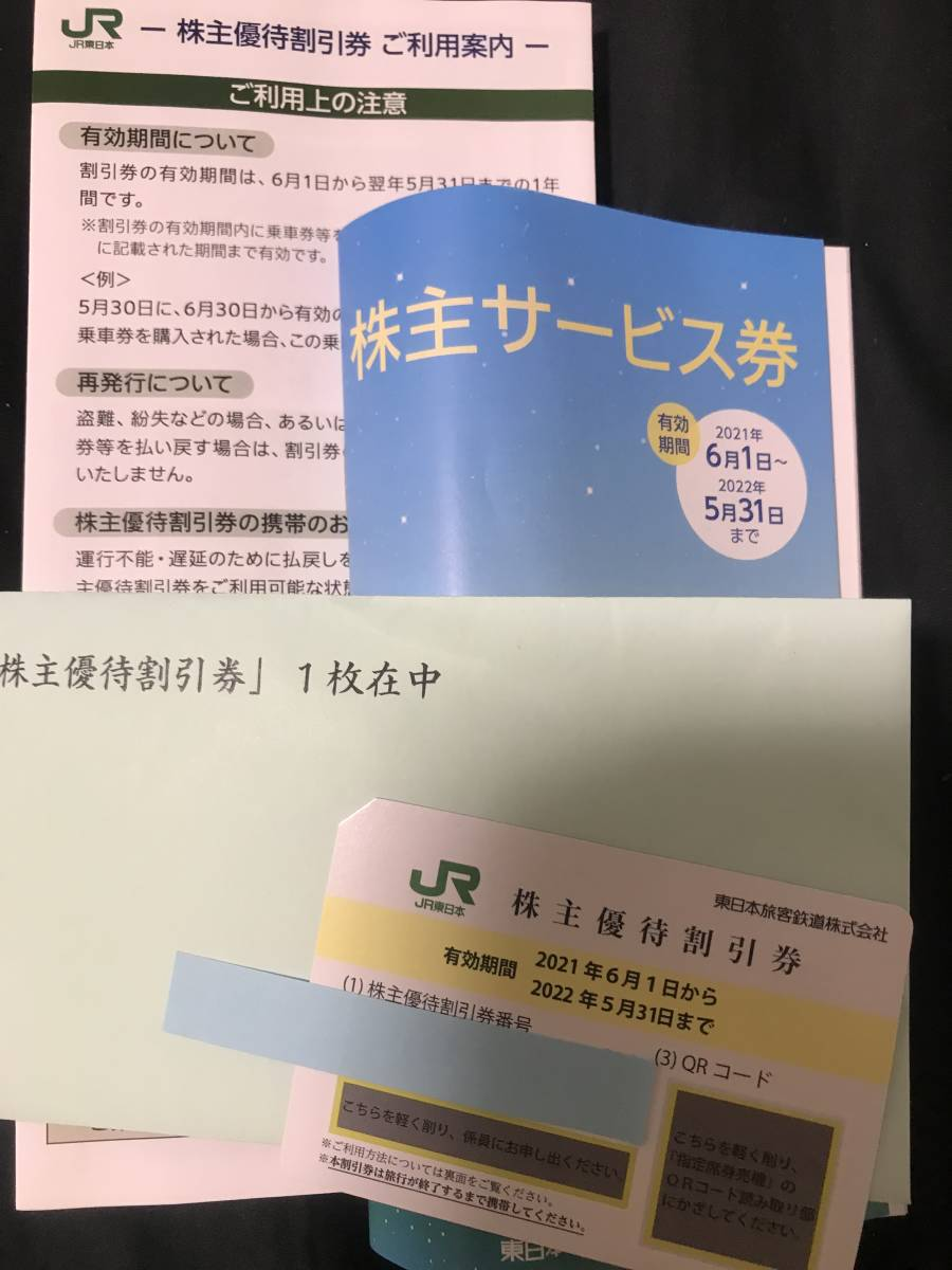 JR東日本 株主優待割引券 2022年5月31日迄有効_画像1