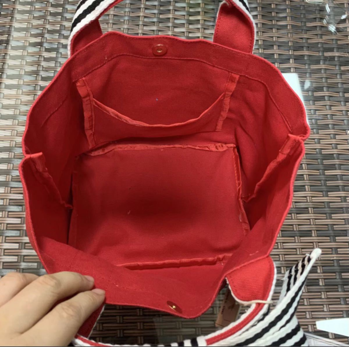 トートバッグ ミニバッグ ランチバッグ キャンバス ミニトート お出かけ ミニバッグ オールシーズン ファッションバッグ