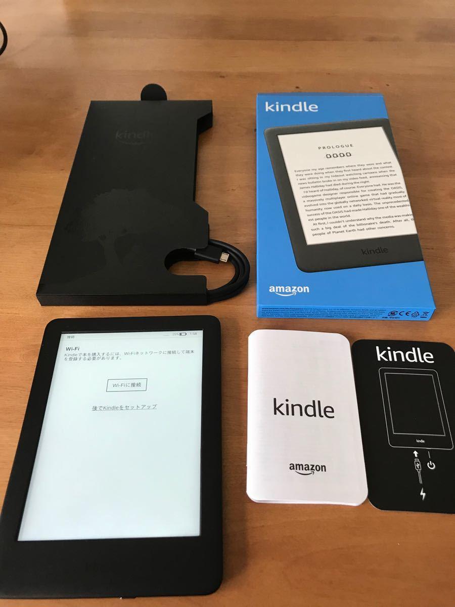 Kindle フロントライト搭載 Wi-Fi 8GB ブラック 広告つき 電子書籍リーダー Amazon
