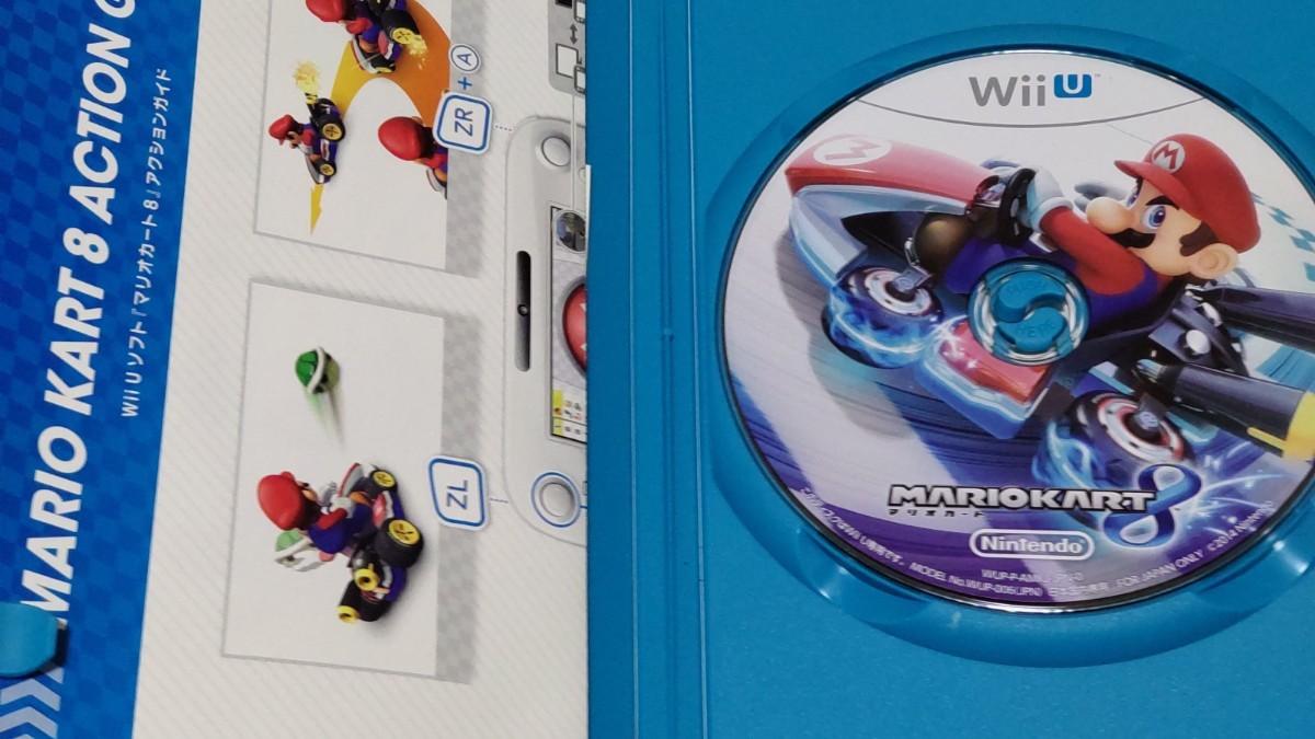 Wii U マリオカート8+ Wiiハンドル セット