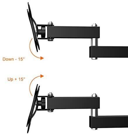 【送料無料】 左右移動式 OLED液晶テレビ対応 LED 耐荷重10kg 14-27インチLCD Himino VESA アーム式 上下左右角度調節 規格_画像4