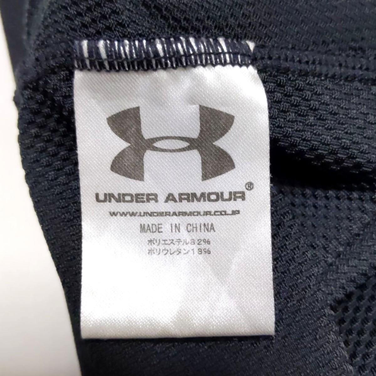 アンダーアーマー  ハイネックインナーシャツ 長袖 メンズ Mサイズ