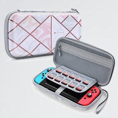 新品 好評 Nintendo Mumba Y-3C ハンドストラップ付 ゲ-ムカ-ドケ-ス Switch ケ-ス 防水 防塵 耐衝撃 ニンテンドスイッチ 収納バッグ_画像1