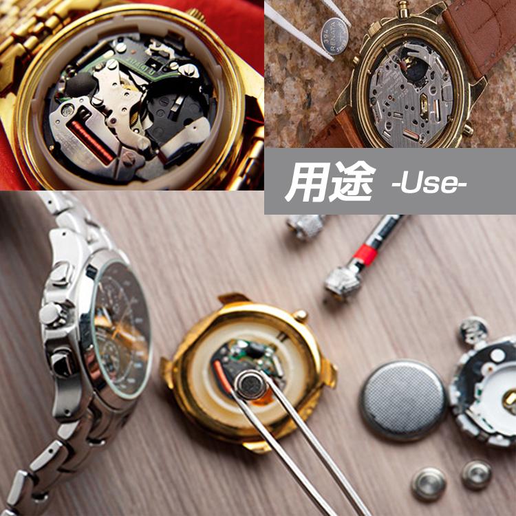 裏蓋オープナー 腕時計の電池交換や修理に 専用工具 時計工具 ドライバー 修理ツール 軽量 裏蓋開け こじ開け ヘラ カバー開き WBPO81M_画像6
