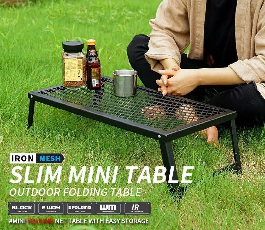 アウトドアテーブル キャンプテーブル グリルスタンド 焚き火台 クッカースタンド