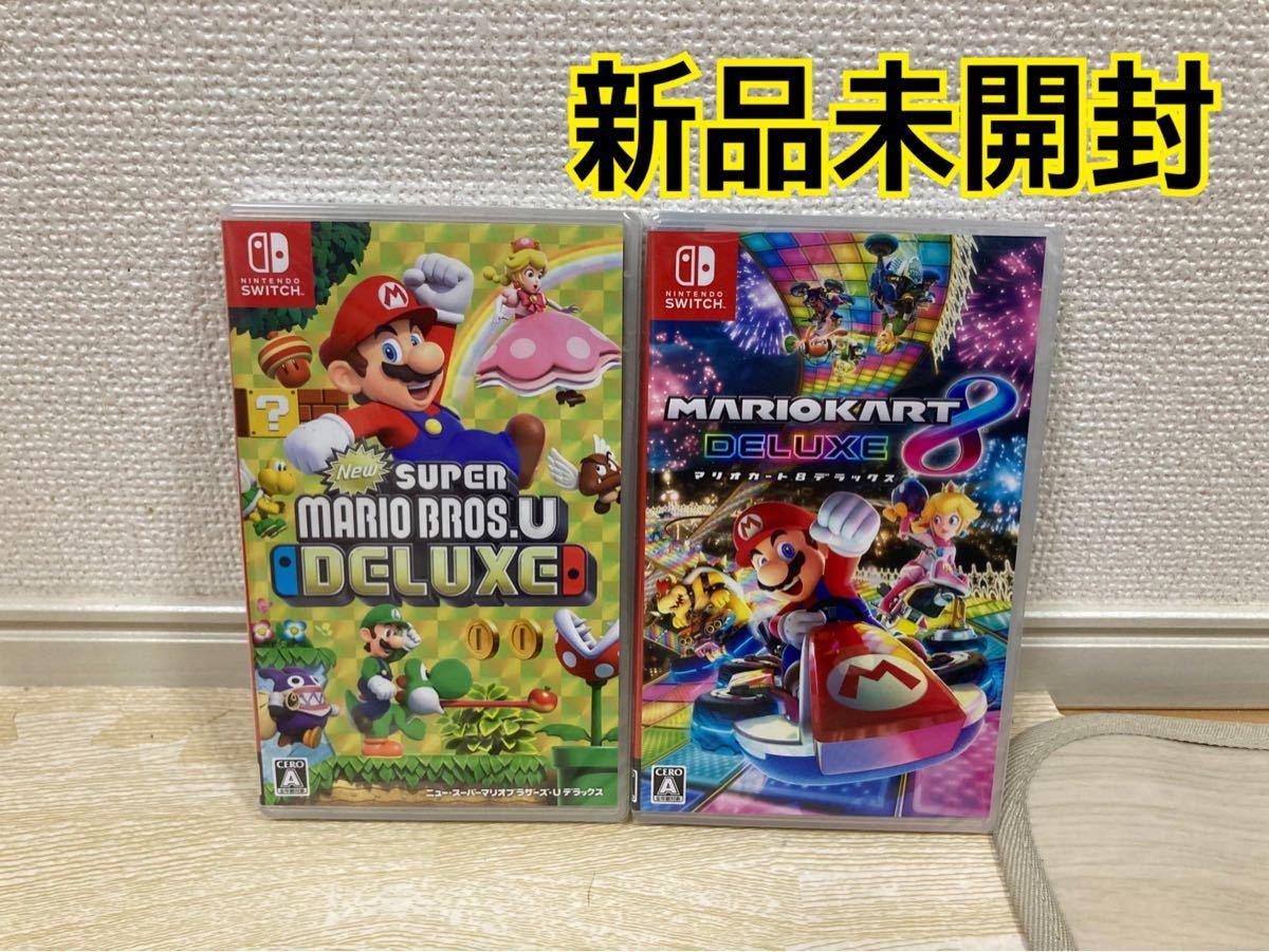 【新品】スーパーマリオブラザーズ マリオカート8  ニンテンドースイッチ Switch