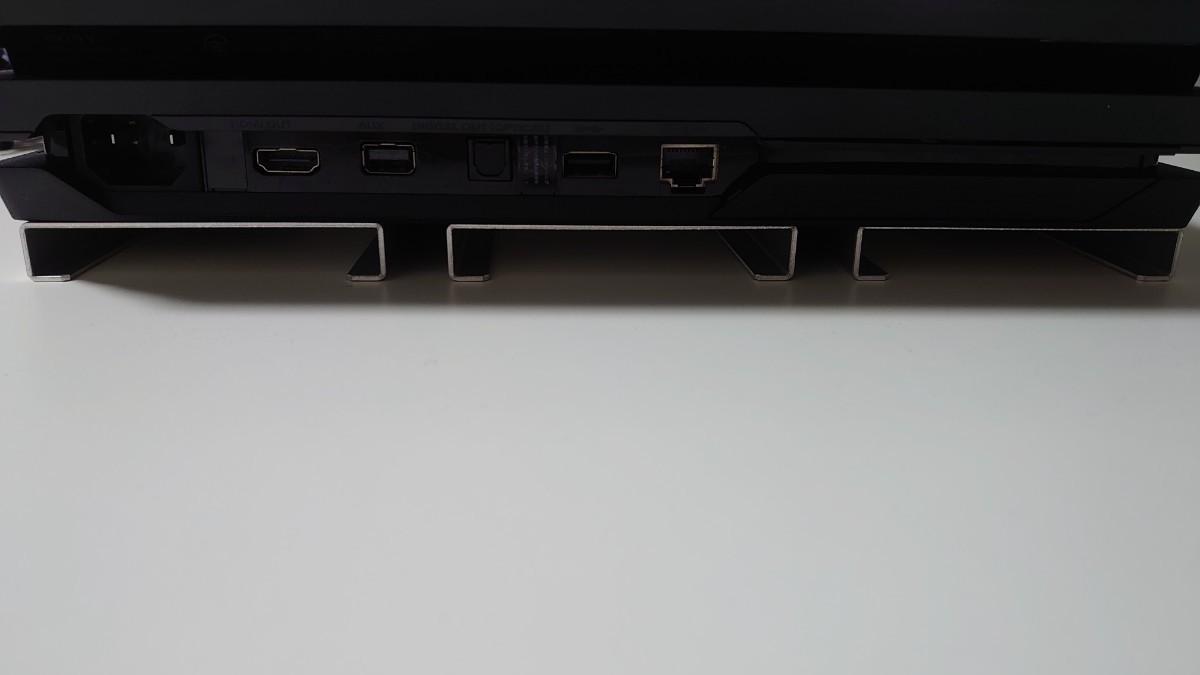 PlayStation4 Pro 1TB (ブラック) + 冷却用アルミ台
