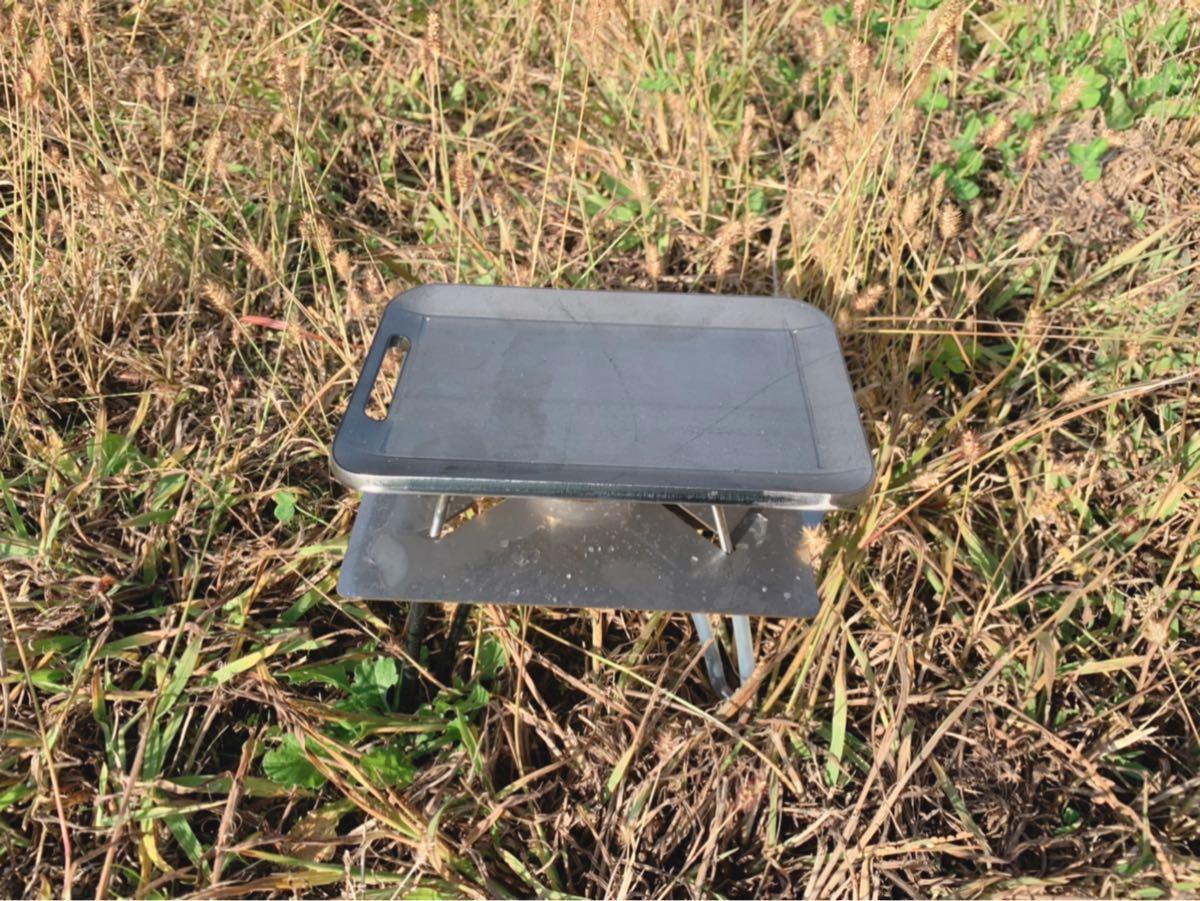 ヘラ付き 鉄板 4.5mm 焼肉 メスティン ラージ キャンプ バーベキュー