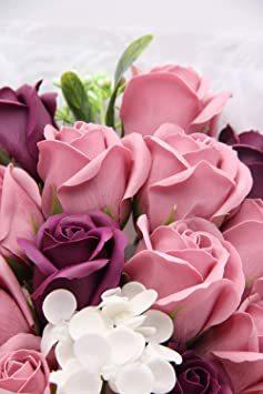 ピーチ ソープフラワー 花束 ギフト 母の日 お花 誕生日 プレゼント 女性 人気 薔薇 敬老の日 記念日 開店祝い 造花 石?_画像6